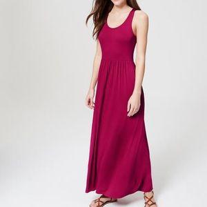 NWT Loft Ann Taylor sleeveless maxi dress